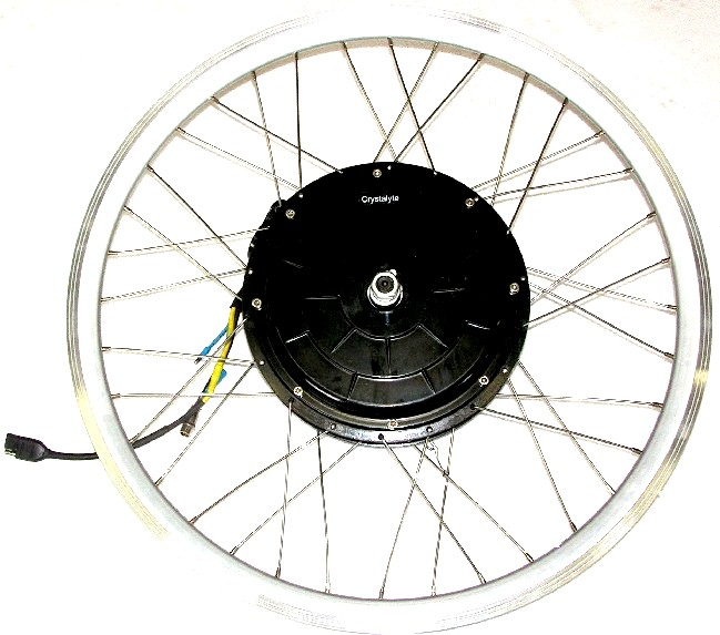 Crystalyte Hub Motors Electric Bike Conversion Kits