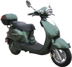 Electric MotorScooter Green