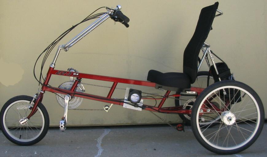 Electro cycle e 4 kit for recumbent bikes installation for Recumbent bike with electric motor