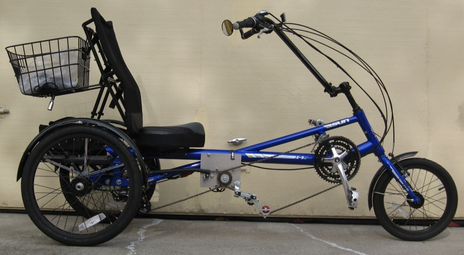 Electric Bikes 3 Wheelers The three wheeled X SX Trike
