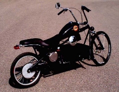 Bikes Electric Choppers El Chopper