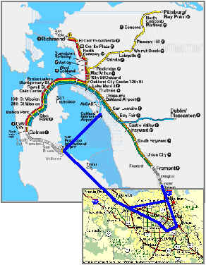 bart san jose extension map - 28 images - bay area 2050 the bart ...